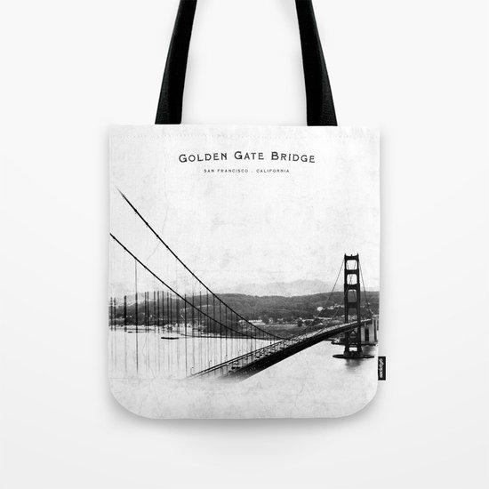 Golden Gate Bridge - San Francisco Tote Bag