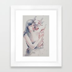 Lot's Wife Framed Art Print