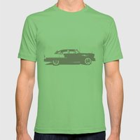 LAX Theme Building Mens Fitted Tee Grass SMALL