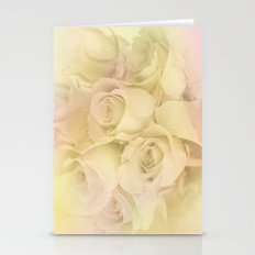 Soft Antique Roses Stationery Cards