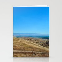 Long way round Stationery Cards