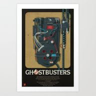 Proton Pack, Ghostbuster… Art Print