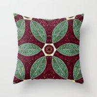 Turkish Bath Mosaic Throw Pillow