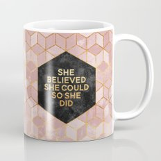 She Believed She Could S… Mug