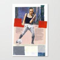Football Fashion #11 Canvas Print