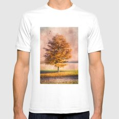 A sunny autumn day Mens Fitted Tee White SMALL