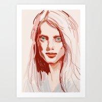 Unpretentiousness Art Print