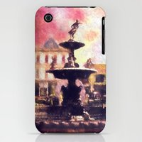 iPhone Cases featuring Fountain by Ryan's Creations