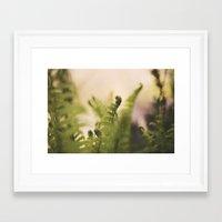 The Greening Framed Art Print