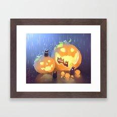 Teamwork Framed Art Print