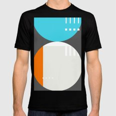 Spot Slice 01 SMALL Black Mens Fitted Tee