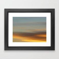 January Sunrise Framed Art Print
