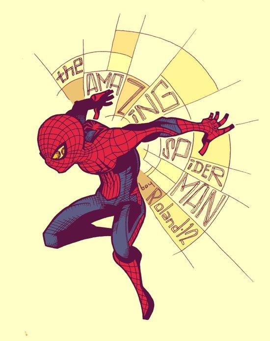 The Amazing Spider-Man: Day Break Art Print