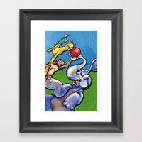 ANIMALS Framed Art Print