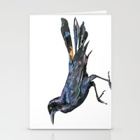 American Grackle Stationery Cards