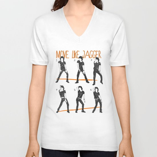 Move Like Jagger (MOVE LIKE COLLECTION) V-neck T-shirt