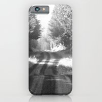 iPhone & iPod Case featuring Forest Road by Allison Baskett