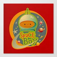 SPACE BOY Canvas Print