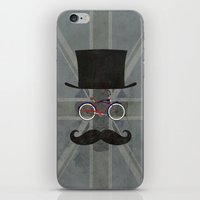 Bicycle Head iPhone & iPod Skin