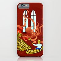 How Dragons Keep Warm in Winter iPhone 6 Slim Case