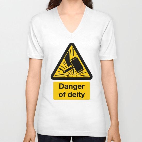Danger of Deity V-neck T-shirt