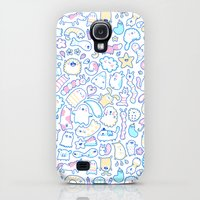 Galaxy S4 Cases featuring Stars, Clouds & Ghosts by KiraKiraDoodles