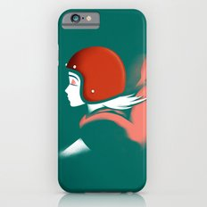 Moped Girl Slim Case iPhone 6s