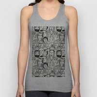 Faces in the Tube Unisex Tank Top