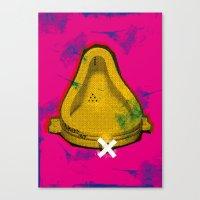 La Sex Tape De Duchamp ! Canvas Print
