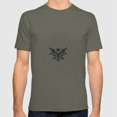 ARAWR Mens Fitted Tee Lieutenant SMALL