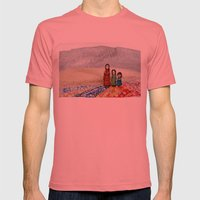 Farewell Mens Fitted Tee Pomegranate SMALL