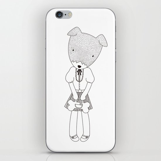 LOLO THE JACK RUSSELL TERRIER iPhone & iPod Skin
