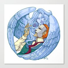 Erik & the Siren Canvas Print