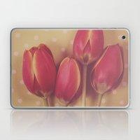 Antique Tulips Laptop & iPad Skin