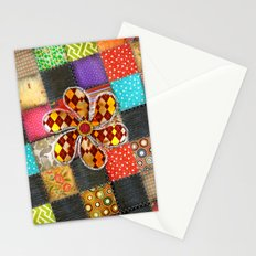 Lady Patchwork (Bulgarian Love) Stationery Cards