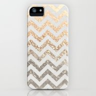 GOLD & SILVER  iPhone (5, 5s) Slim Case