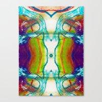 Monadic Determination Canvas Print