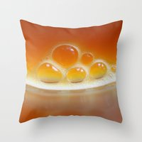 Drink Your Vegetables Throw Pillow