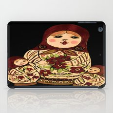 Russian dolls 2 / warmer colors  iPad Case
