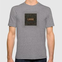 Loom Knox Mens Fitted Tee Athletic Grey SMALL