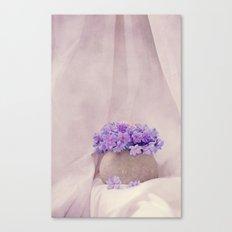 poeme de violet Canvas Print