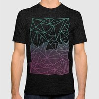 Beau Rays Mens Fitted Tee Tri-Black SMALL