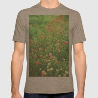 Impressionism Mens Fitted Tee Tri-Coffee SMALL