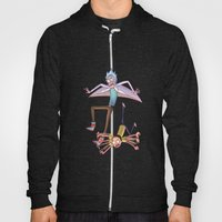 Rick and Morty - Pink Gravity Hoody