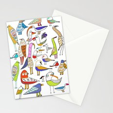 Birds. bird, pattern, animals, kids, art, design, illustration,  Stationery Cards