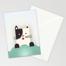 Cat Watching Stationery Cards
