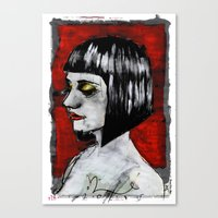 Lauren Trillium Canvas Print