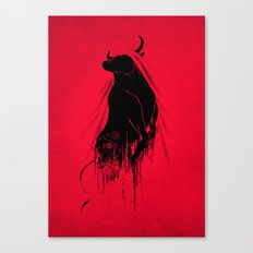 Revenge Of The Toro Canvas Print