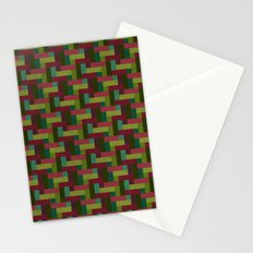 Woven Pixels III Stationery Cards