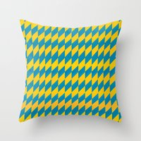 Color Encounters 1 Throw Pillow